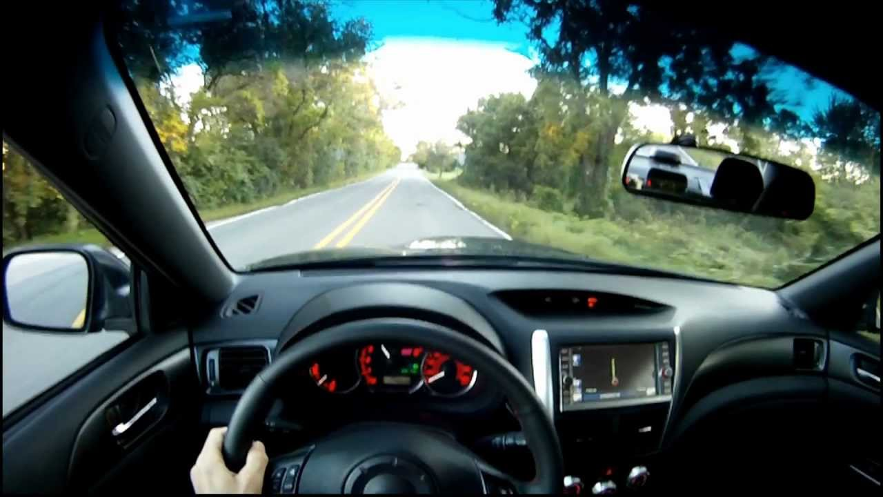 2011 subaru wrx sti sedan winding road quick drive youtube vanachro Choice Image