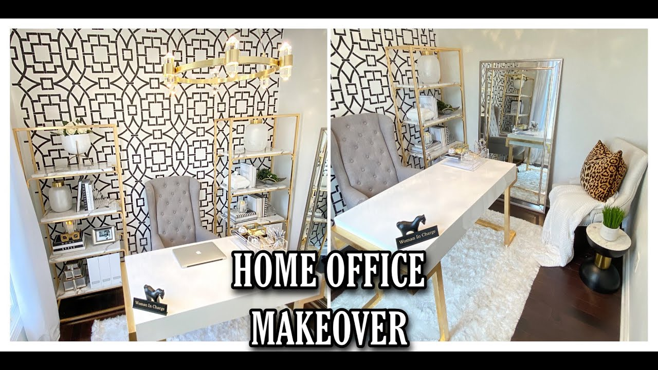 EXTREME DIY HOME OFFICE MAKEOVER | ROOM TRANSFORMATION