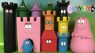 Barbapapa Château Castle Baby Toys Jouets d'éveil pour enfants Plastoy