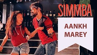 Simmba: Aankh Marey | Ranveer Singh, Sara Ali Khan | Tanishk Bagchi, Mika, Neha