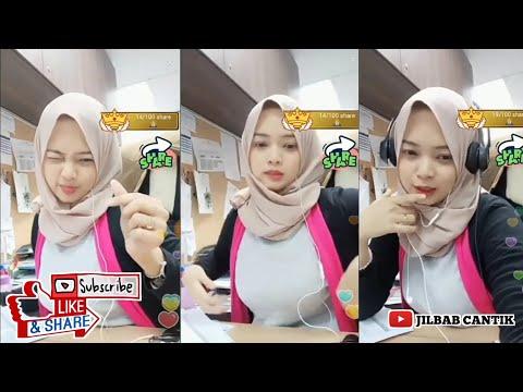 Bigo live jilbab di kantor