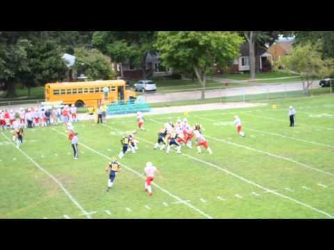 Charles Caine III High School Football Highlight Film 2014