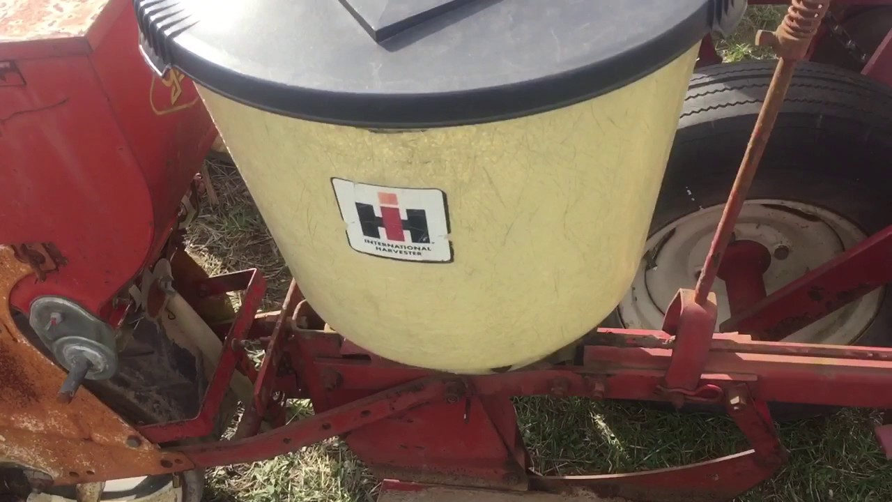 Ih 56 Planter Overview Youtube