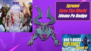 🔴 Balkan Fortnite Save The World - Idemo Po Badge - GIVEAWAY Fortnite 600 Baksuza + Skin ili 5$