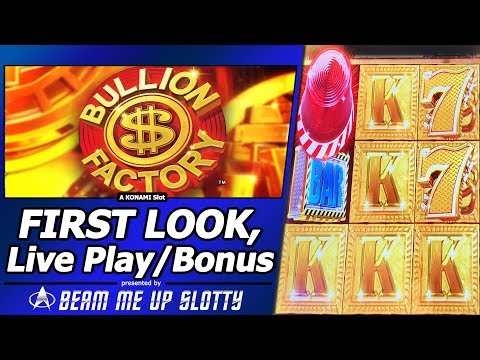Bullion Factory Slot - New Slot, Live Play, Free Spins and Big Win Feature