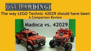 The way LEGO Technic Customized Pick-Up Truck should have been, Set 42029