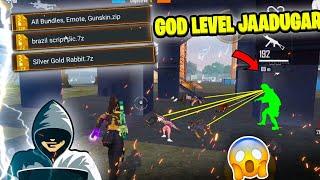 God Level Jaadugar Comes In My Game😱 कैसे Global जाए अब हम?😭- Garena Free Fire