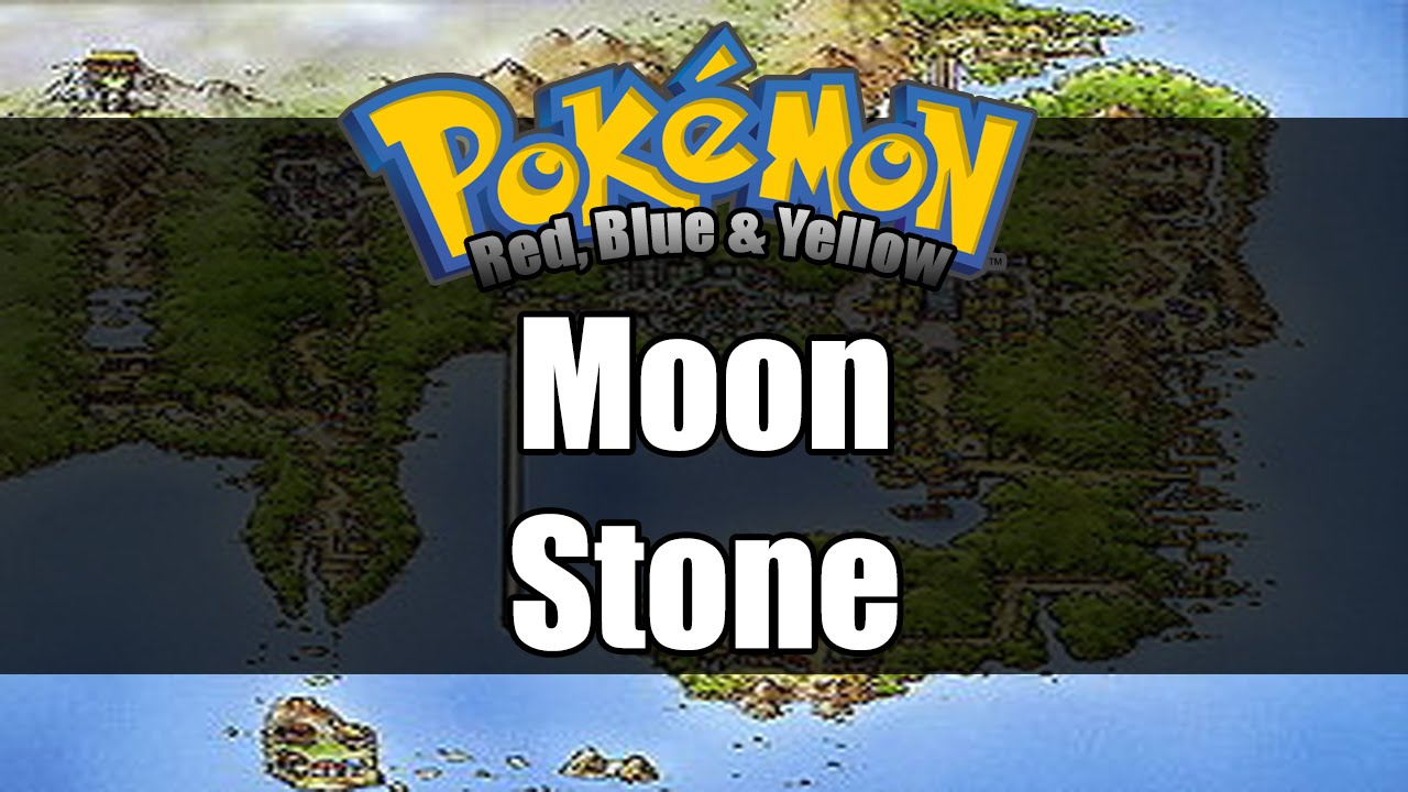 pokemon red moonstone use - photo #13