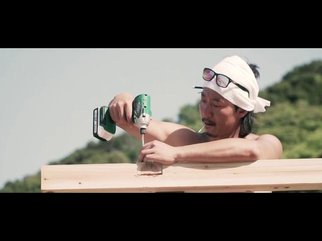 MUJINTO cinema CAMP KANSAI オープニング(無人島開発ムービー)