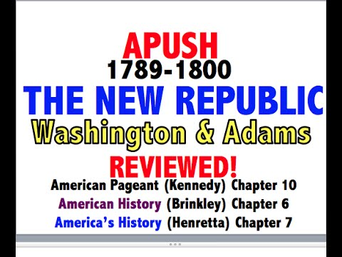 American Pageant Chapter 10 APUSH Review