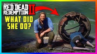The REAL Reason Why The Barrel Rider Lady Can Be Found In Red Dead Redemption 2! (Mystery Solved)