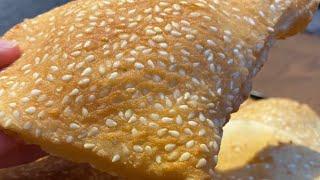 خبز البالون اسهل خبر على الاطلاق لسندويشات بدون فرن 🥰😊