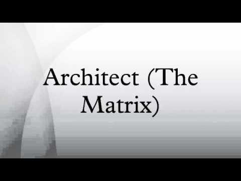 Architect (The Matrix)
