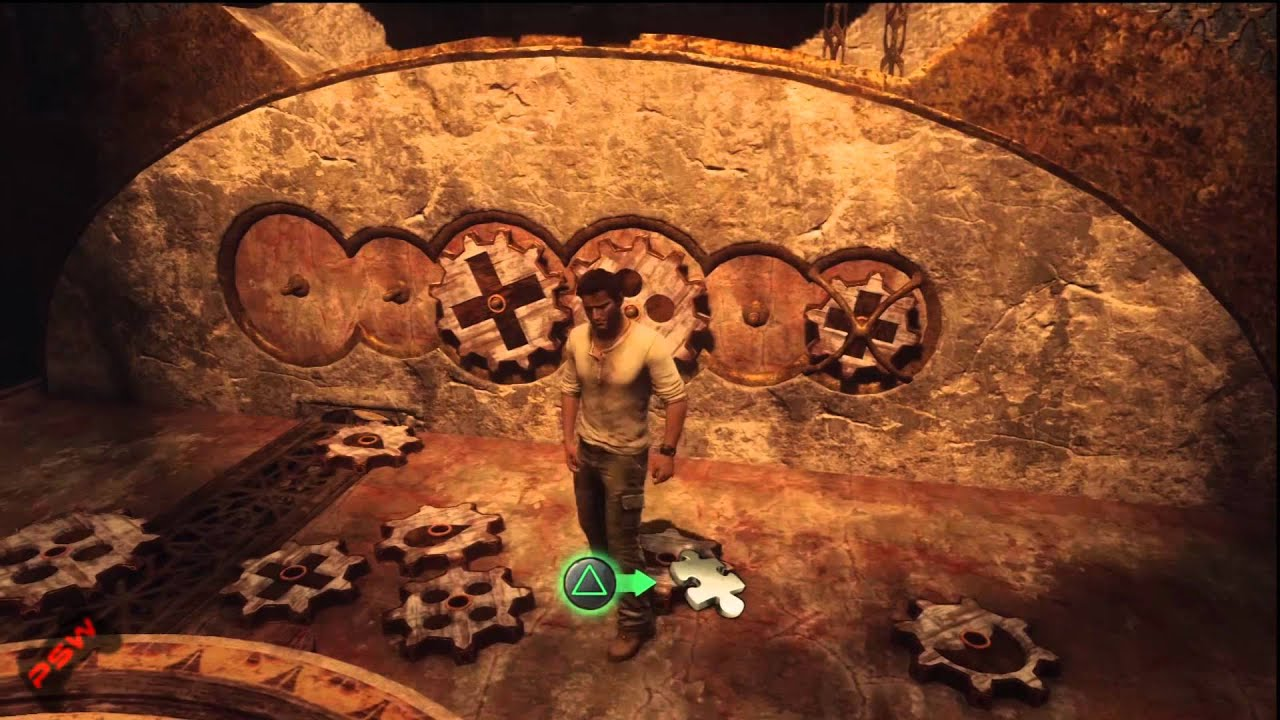 Superior Uncharted 3 Wall Mural Part   22: Uncharted 3 Chapter 11   West Wing Puzzle Part 14