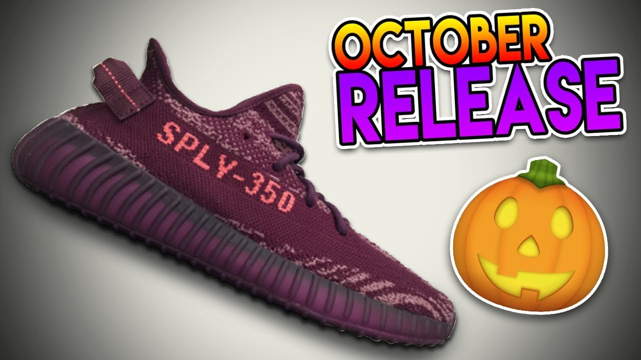 pretty nice 043f7 77439 THE YEEZY 350 BOOST V2 RELEASE OF OCTOBER??? ( POTENTIAL DROPS!!! )