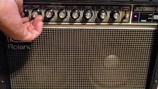 Roland JC-55 amp