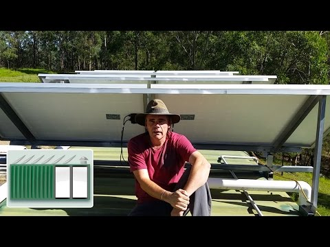 Shipping Container House – Obsolete solar panels - Cry for help