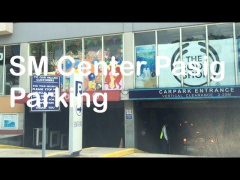 SM Center Pasig Basement Parking by HourPhilippines.com