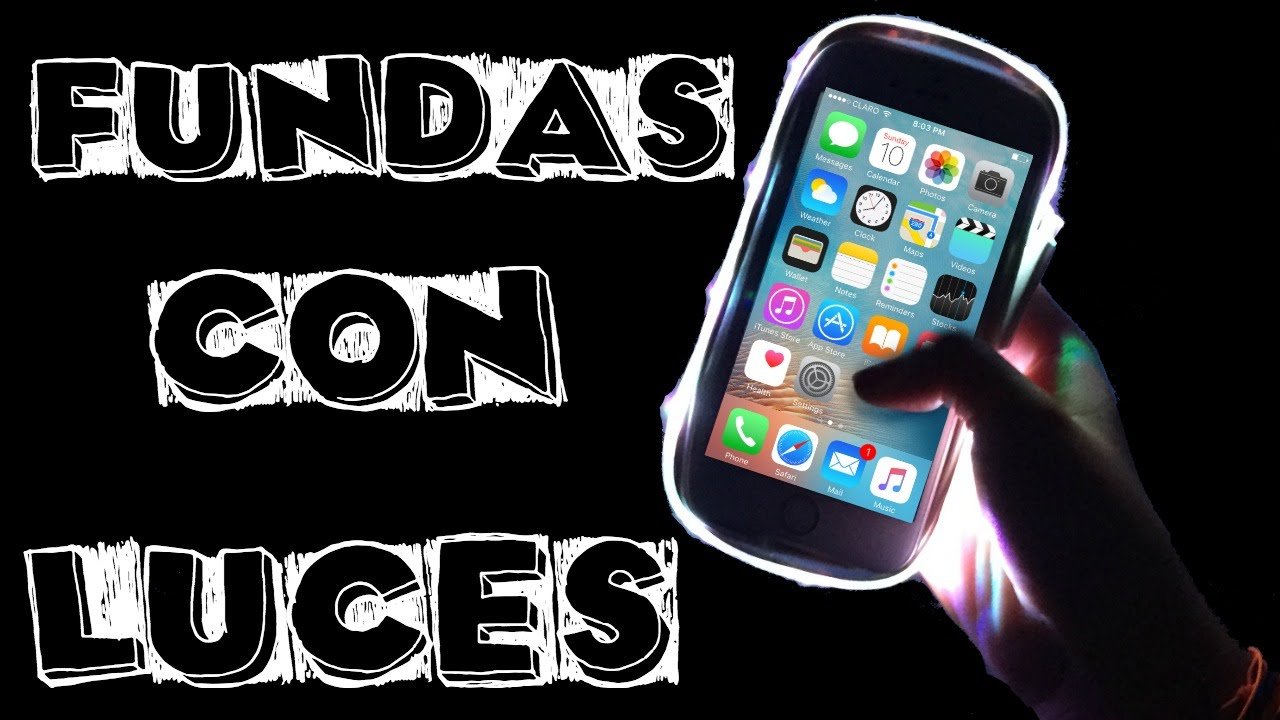 f20e8f8cb31 Funda con Luces | Cover para Selfie | DIY LuMee Case - YouTube