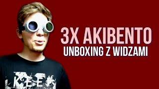 3X AKIBENTO - Unboxing z widzami!