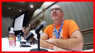 Thegamecon Day 2, Panel Discussions, Tree Carvings Tour, Food Review - Ken's Vlog #417