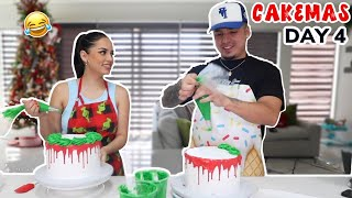 CAKE DECORATING CHALLENGE WITH ALEX! *funny af*  😂