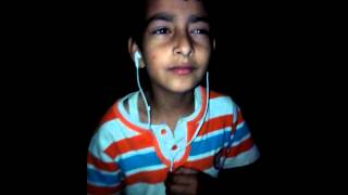 A nepali boy singing jeena jeena hindi song