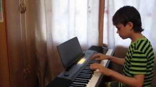 """Enjoykin """"Привет,как дела?"""" на пианино (piano cover)"""