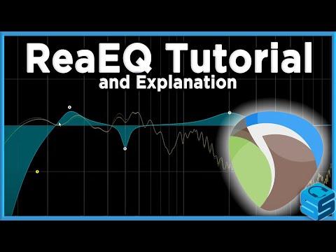 ReaEQ Explanation for REAPER [StreamerSquare] - YouTube