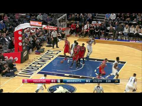 Houston Rockets vs Minnesota Timberwolves | December 17, 2016 | NBA 2016-17 Season