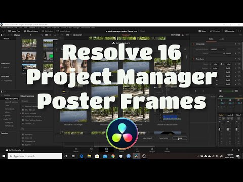 custom thumbnails for project manager