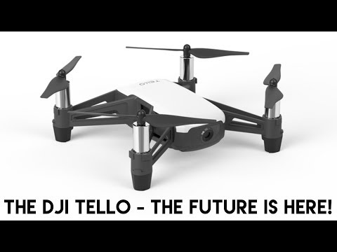 DJI Tello Drone | RYZE Tech | The Consumer Drone Of The Future