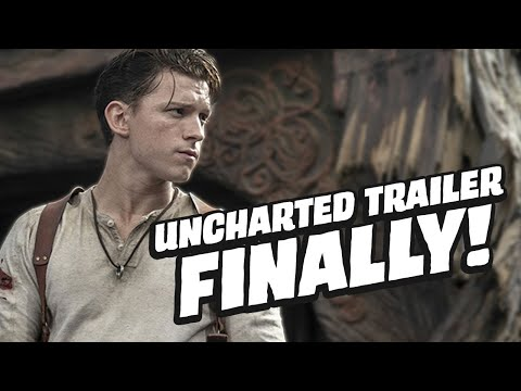 Uncharted Movie Gets A Trailer & Sully Still Doesn't Have His Mustache   GameSpot News