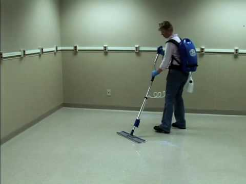 Ecolab - Applying Floor Finish with Phazer