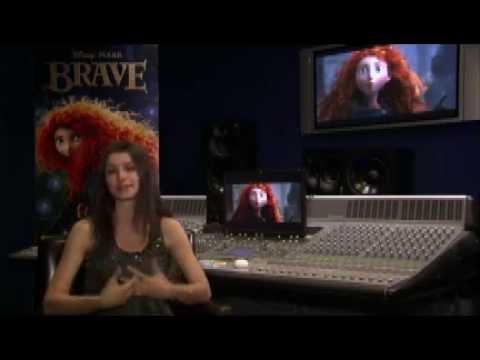 Beren Saat, Disney Pixar Cesur Filmi Ve Merida'yı Anlatıyor!