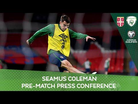 PRE-MATCH PRESS CONFERENCE   Seamus Coleman