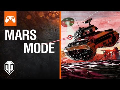 World of Tanks Console: Mars Mode