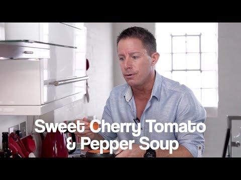 Sweet Cherry Tomato & Pepper Jason Vale Soup Recipe