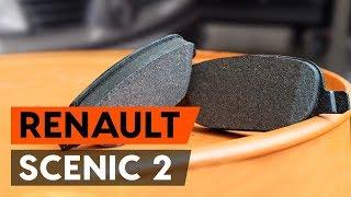 Cambiar Pastilla de freno delanteras y traseras RENAULT SCÉNIC II (JM0/1_) - instrucciones en video