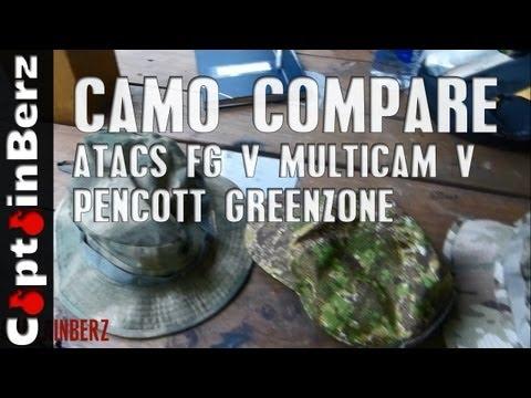ATACS FG v Multicam v Pencott Greenzone (Camo Testing)