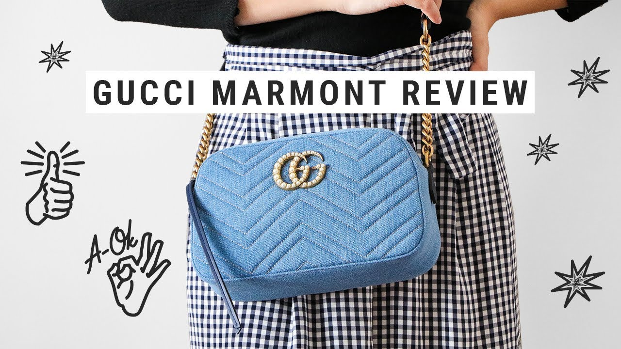 1f63d73ffad6a2 GUCCI MARMONT BAG japan exclusive // review + what fits inside ...