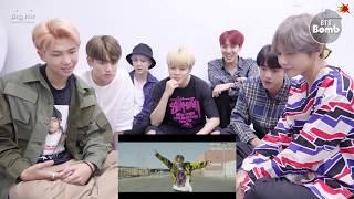 BTS  reaction  J-HOPE 'Chicken Noodle Soup' (Feat. Becky G) MV - BTS (방탄소년단)