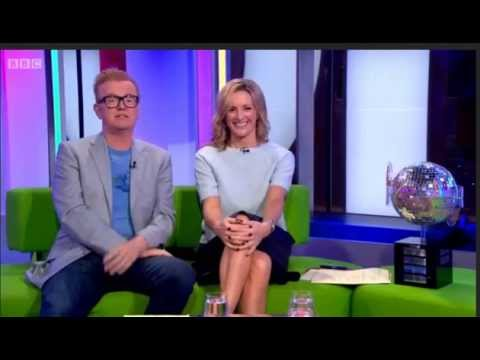 gabby logan the one show 290814 upskirt youtube