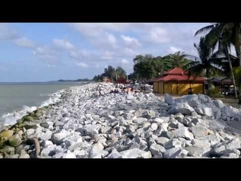 PANTAI CAHAYA BULAN - MOONLIGHT BEACH,KOTA BHARU,KELANTAN,MALAYSIA.