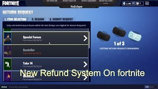 How To Refund Skins in Season 4!! Fortnite Battle Royale