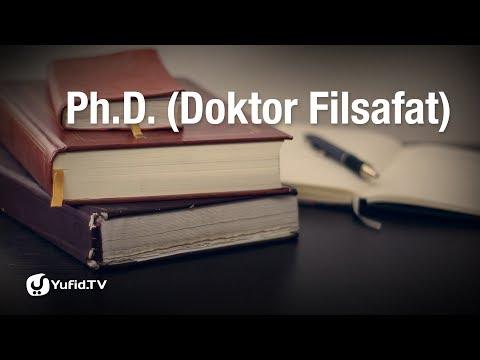Kajian Umum: Ph.D (Doktor Filsafat) - Ustadz Abu Ihsan al-Maidani
