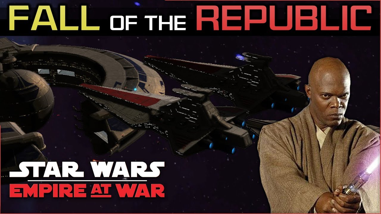 Mace's Windu of Opportunity[ Republic Ep 4 ] Fall of the Republic Preview -  Empire at War Mod