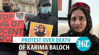 Protest Held Outside Paris's Canadian Embassy Over Death Of Karima Baloch