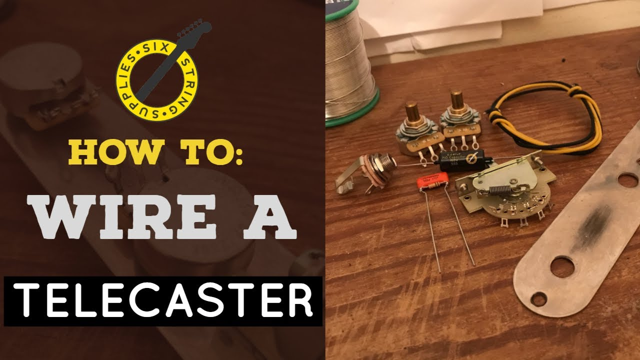 How To Wire A Telecaster Youtube Pick Up Switch Wiring On Harnesses For