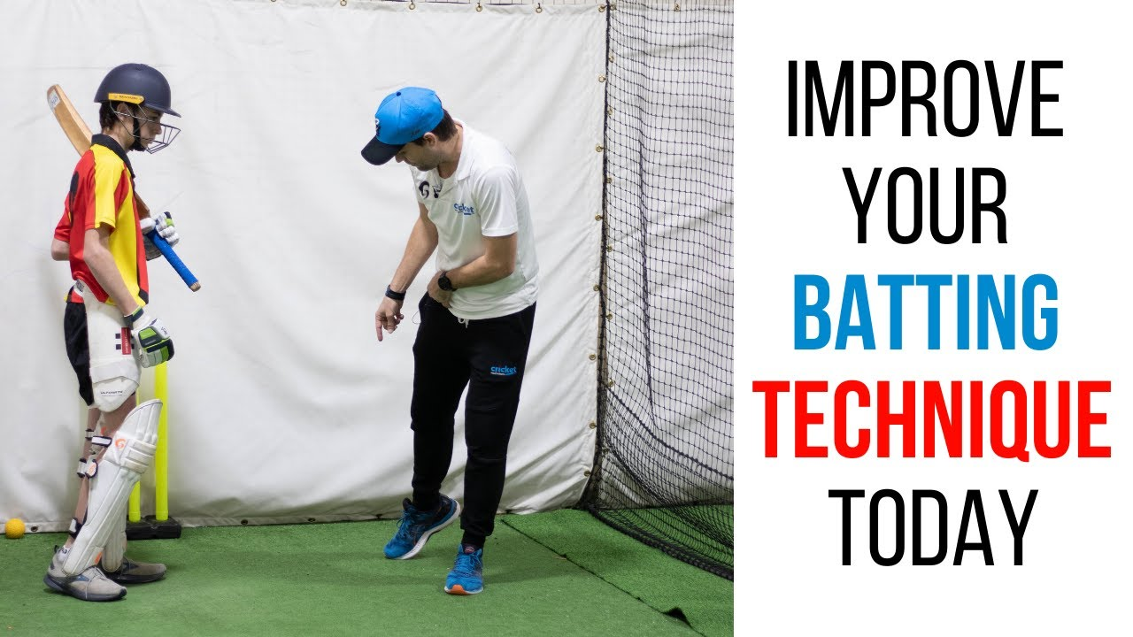 How to improve your Batting Technique
